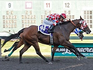 Taylor Said wins the Longacres Mile