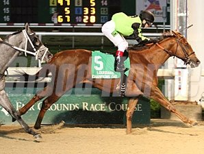 Heavy On Themister wins the 2012 Louisiana Champions Day Classic Stakes.