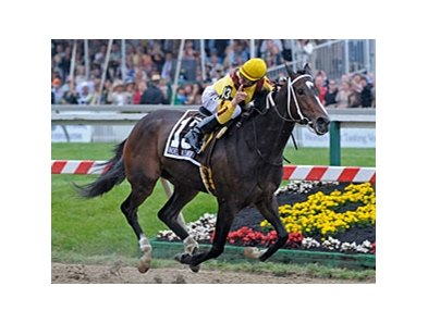 "Preakness winner Rachel Alexandra is scheduled to make her next start in the Mother Goose.<br><a target=""blank"" href=""http://www.bloodhorse.com/horse-racing/photo-store?ref=http%3A%2F%2Fpictopia.com%2Fperl%2Fgal%3Fprovider_id%3D368%26ptp_photo_id%3D8118026%26ref%3Dstory"">Order This Photo</a>"