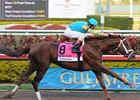 "Eskendereya won the Fountain of Youth by 8 1/2 lengths.<br><a target=""blank"" href=""http://www.bloodhorse.com/horse-racing/photo-store?ref=http%3A%2F%2Fpictopia.com%2Fperl%2Fgal%3Fprovider_id%3D368%26ptp_photo_id%3D8802805%26ref%3Dstory"">Order This Photo</a>"