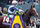 "2014 Breeders' Cup Mile winner Karakontie<br><a target=""blank"" href=""http://photos.bloodhorse.com/BreedersCup/2014-Breeders-Cup/Mile-/i-tHTCV69"">Order This Photo</a>"
