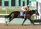 "Hard Aces rolls to victory in the Louisiana Handicap.<br><a target=""blank"" href=""http://photos.bloodhorse.com/AtTheRaces-1/At-the-Races-2015/i-QtN4pDs"">Order This Photo</a>"