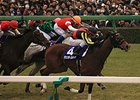 "Gentildonna takes the Arima Kinen at Nayakama Racecourse. <br><a target=""blank"" href=""http://photos.bloodhorse.com/AtTheRaces-1/At-the-Races-2014/i-585N2Mc"">Order This Photo</a>"