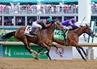 Plum Pretty Pulls Out Kentucky Oaks Thriller