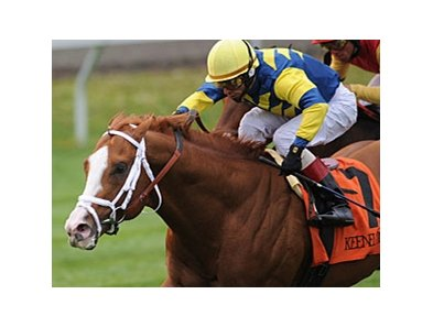 "Stratford Hill and John Velazquez take the Shakertown at Keeneland.<br><a target=""blank"" href=""http://www.bloodhorse.com/horse-racing/photo-store?ref=http%3A%2F%2Fpictopia.com%2Fperl%2Fgal%3Fprovider_id%3D368%26ptp_photo_id%3D9493571%26ref%3Dstory"">Order This Photo</a>"