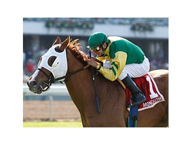 Get Serious has won the Oceanport Stakes and the Monmouth Stakes this year.