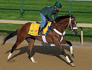 Mucho Macho Man Churchill Downs 04/28/11.