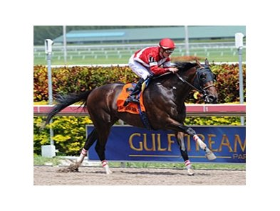 Fort Larned makes his 2013 debut in the Gulfstream Park Handicap.
