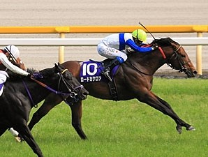 Lord Kanaloa wins the Yasuda Kinen in Japan.
