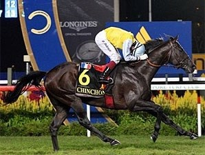Chinchon wins the Singapore Airlines International Cup.