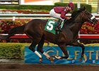 War Pass cruised to an easy victory in his first start of 2008, an allowance race Feb. 24 at Gulfstream Park.