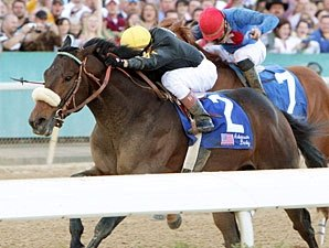 Papa Clem Up in Time in Arkansas Derby