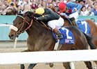 Papa Clem powers home in the Arkansas Derby.