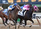 "Comma to the Top seeks his third win of the year in the Los Angeles Handicap.<br><a target=""blank"" href=""http://photos.bloodhorse.com/AtTheRaces-1/at-the-races-2013/27257665_QgCqdh#!i=2389408852&k=jbNS9jB"">Order This Photo</a>"
