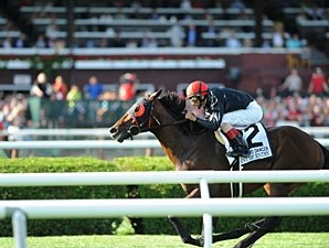 Point of Entry wins the 2012 Sword Dancer.