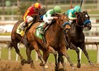 "Gilded Gem rolls late to win the Las Flores.<br><a target=""blank"" href=""http://www.bloodhorse.com/horse-racing/photo-store?ref=http%3A%2F%2Fpictopia.com%2Fperl%2Fgal%3Fprovider_id%3D368%26ptp_photo_id%3D9473429%26ref%3Dstory"">Order This Photo</a>"
