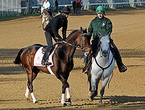 Close Hatches works at Churchill Downs 4/21/2013.