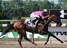 "Gabby's Golden Gal will cut back in distance in the Prioress Stakes.<br><a target=""blank"" href=""http://www.bloodhorse.com/horse-racing/photo-store?ref=http%3A%2F%2Fpictopia.com%2Fperl%2Fgal%3Fprovider_id%3D368%26ptp_photo_id%3D8223203%26ref%3Dstory"">Order This Photo</a>"