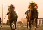 "Turbulent Descent pulls away from the rest in the Hollywood Starlet.<br><a target=""blank"" href=""http://www.bloodhorse.com/horse-racing/photo-store?ref=http%3A%2F%2Fpictopia.com%2Fperl%2Fgal%3Fprovider_id%3D368%26ptp_photo_id%3D9323460%26ref%3Dstory"">Order This Photo</a>"