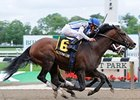 "Alternation catches Adios Charlie late to win the Peter Pan at Belmont.<br><a target=""blank"" href=""http://www.bloodhorse.com/horse-racing/photo-store?ref=http%3A%2F%2Fpictopia.com%2Fperl%2Fgal%3Fprovider_id%3D368%26ptp_photo_id%3D9525608%26ref%3Dstory"">Order This Photo</a>"
