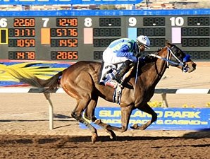 Isn't He Clever Defends Turf in Sunland Derby