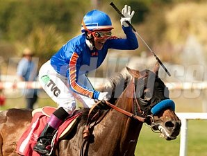 Game On Dude wins the 2012 Californian.
