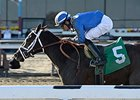 "Mamdooha returns from a year-long layoff in the Correction Stakes.<br><a target=""blank"" href=""http://photos.bloodhorse.com/AtTheRaces-1/At-the-Races-2014/35724761_2vdnSX#!i=3123774279&k=BK9KqSp"">Order This Photo</a>"