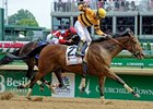 "Successful Dan flies home to win the Alysheba in record time.<br><a target=""blank"" href=""http://photos.bloodhorse.com/AtTheRaces-1/at-the-races-2012/22274956_jFd5jM#!i=1828943254&k=Wx3hSjv"">Order This Photo</a>"