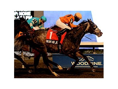 Bear No Joke upsets the Kennedy Road Stakes at Woodbine.