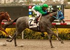 Creative Cause wins the Best Pal Stakes