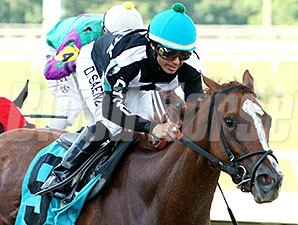 Off Cycle wins the 2014 Acadiana Stakes.