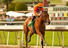Beholder takes on 5 in the Santa Anita Oaks.
