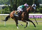 "Starformer rolls to victory in the New York Stakes.<br><a target=""blank"" href=""http://photos.bloodhorse.com/AtTheRaces-1/at-the-races-2013/27257665_QgCqdh#!i=2604919187&k=k96dgVF"">Order This Photo</a>"