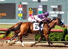 Mythical Power won the Texas Mile at Lone Star Park on April 24.