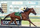 Awesome Gem won the 2011 Longacres Mile by 1 1/2 lengths.
