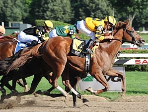 Backtalk wins the 2009 Sanford.