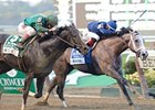 "Havana holds off Honor Code to win the Champagne Stakes.<br><a target=""blank"" href=""http://photos.bloodhorse.com/AtTheRaces-1/at-the-races-2013/27257665_QgCqdh#!i=2812505744&k=7PHgwgF"">Order This Photo</a>"