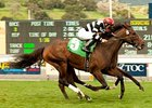 Champ Pegasus Nips 'Bourbon' in SLO Thriller