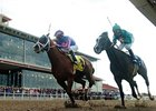 "Circular Quay (left) gets by a stubborn Grasshopper to take the New Orleans Handicap.<br><a target=""blank"" href=""http://www.bloodhorse.com/horse-racing/photo-store?ref=http%3A%2F%2Fpictopia.com%2Fperl%2Fgal%3Fprovider_id%3D368%26ptp_photo_id%3D3811585%26ref%3Dstory"">Order This Photo</a>"