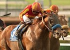 Coil and Martin Garcia take the Santa Anita Sprint Championship.