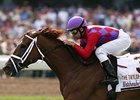 J'ray dominated her foes in the Taylor Made Matchmaker Stakes (gr. IIIT) Aug. 3 at Monmouth Park.