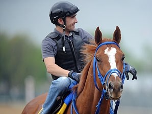 Summer Bird with jockey Chris Rosier at Churchill Downs on April 28