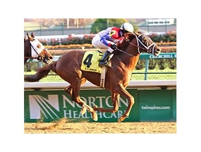 A.P. Arrow, winner of the Clark Handicap (gr. II) last November, drew post one for the June 28 Suburban (gr. II) at Belmont.