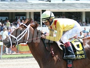 Game Face wins the 2009 Princess Rooney.