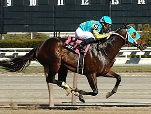 J Be K scores an easy win in the Bay Shore under Garrett Gomez.
