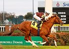 Villandry Gets First Stakes Win in River City