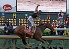 Mine That Bird winning the Kentucky Derby.