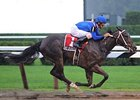 "Hot Dixie Chick pulls away to capture the Schuylerville. <br><a target=""blank"" href=""http://www.bloodhorse.com/horse-racing/photo-store?ref=http%3A%2F%2Fpictopia.com%2Fperl%2Fgal%3Fprovider_id%3D368%26ptp_photo_id%3D8373458%26ref%3Dstory"">Order This Photo</a>"