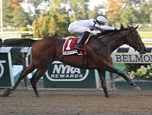 In Trouble wins the Futurity Stakes.