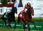 "Little Mike runs away with the Woodford Reserve Turf Classic.<br><a target=""blank"" href=""http://photos.bloodhorse.com/AtTheRaces-1/at-the-races-2012/22274956_jFd5jM#!i=1830421187&k=BKgmhFK"">Order This Photo</a>"